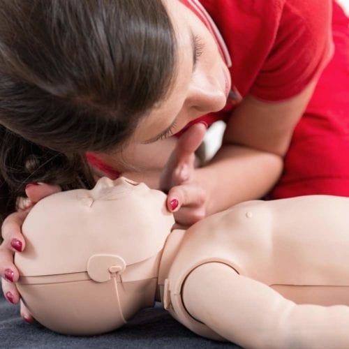first aid cpr training teens babysitters